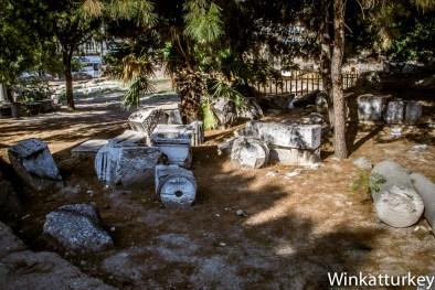 Parque de Akhisar con las ruinas de Tiatira