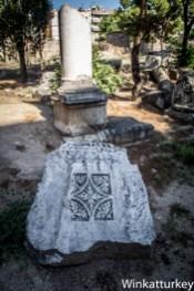 Columnas e inscripciones