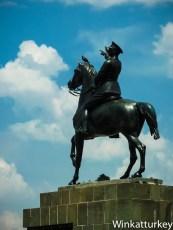 Plaza de la República. Izmir.