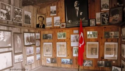 Museo del ferrocarril en Selçuk