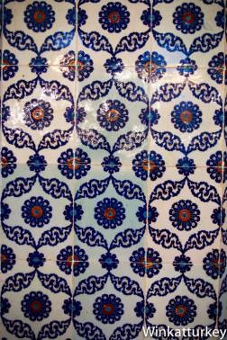 Detalle de azulejos