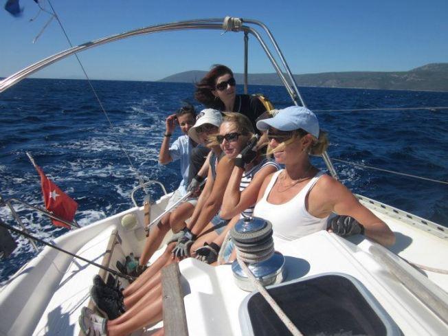 Navegando entre amigas