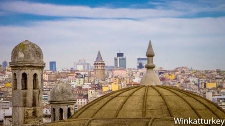 Vista de Estambul desde la mezquita de Solimán el Magnífico