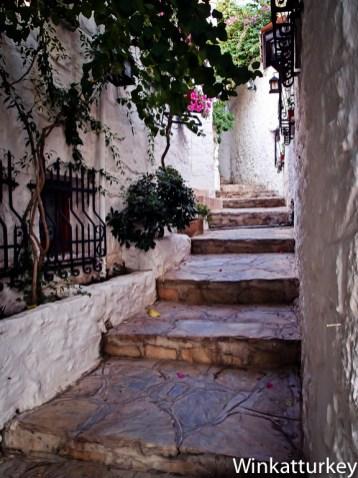 Calles del casco antiguo de Marmaris