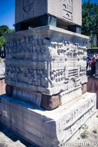 Base del Obelisco