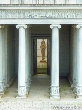 Reproducción del Templo de Artemisa en Miniaturk, Estambul