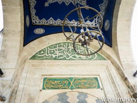 Interior del mausoleo de Barbarroja