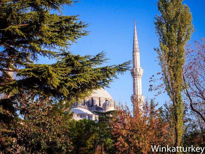 Vista de la Mezquita de Sehzade