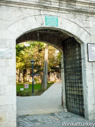 Entrada al complejo de Sehzade