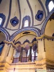 Interior de la pequeña Santa Sofía