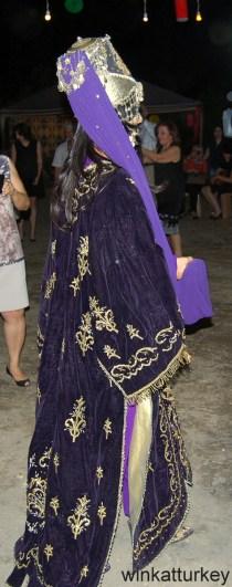 Vestido de teciopelo para la ocasión