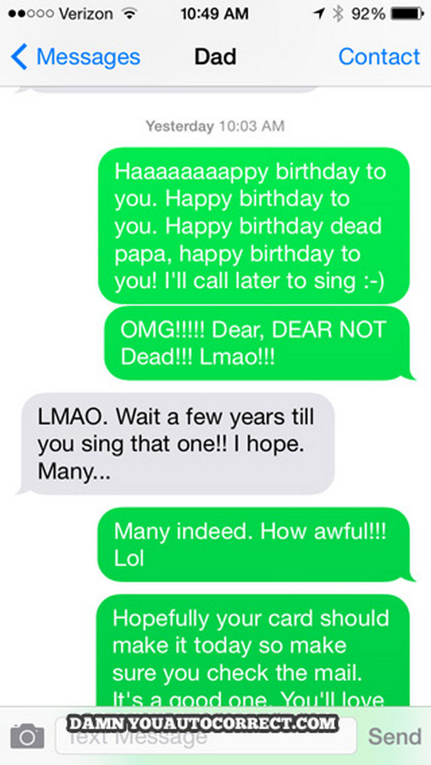 17 Funny Texts from Parents - That was awkward.