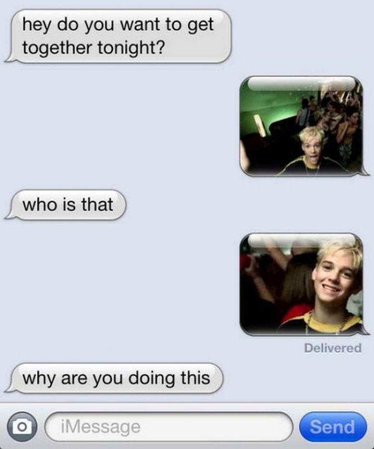 16 Funny Wrong Number Texts - It's Aaron Carter!