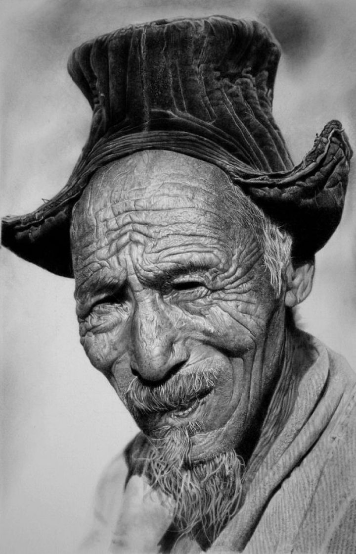 25 Amazingly Realistic Art Paintings - Franco Clun - Pencils on watercolor paper.