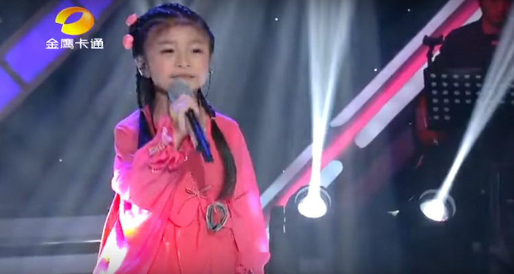 """Celine Tam Sings """"You Raise Me up"""" Perfectly at Only 5 Years Old."""