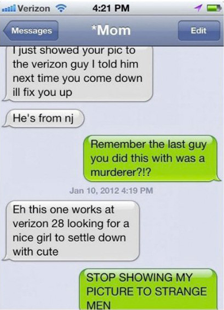 14 Funny Mom Texts - She has good intentions but...