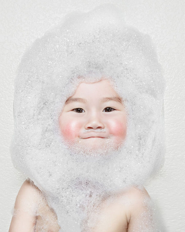 Kristin and Kayla - This is really what a bubble beard should look like.