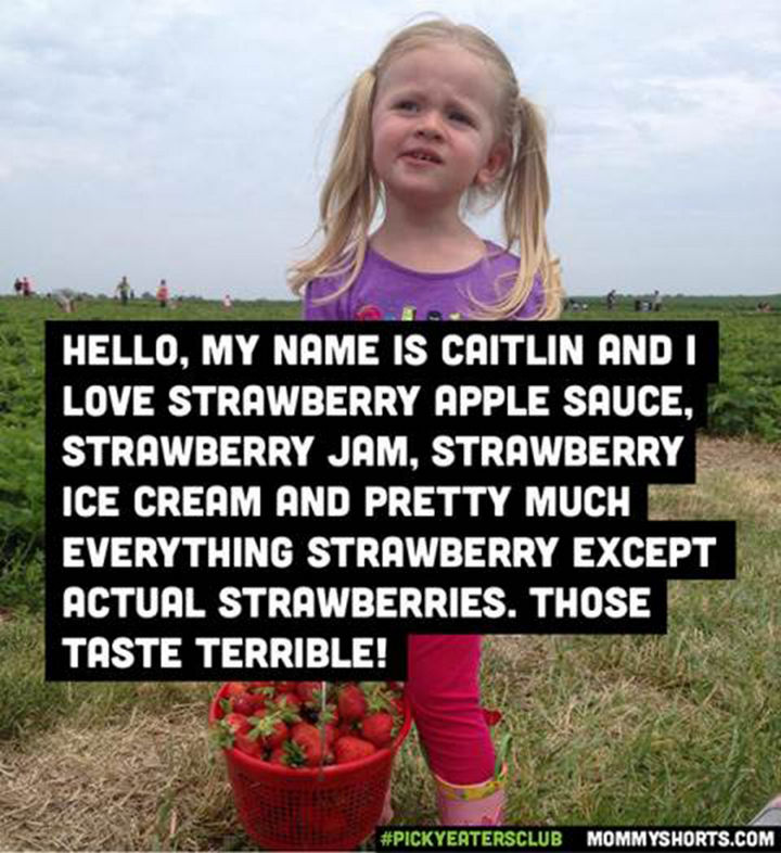 Picky Eaters Club - Hello, my name is Caitlin...