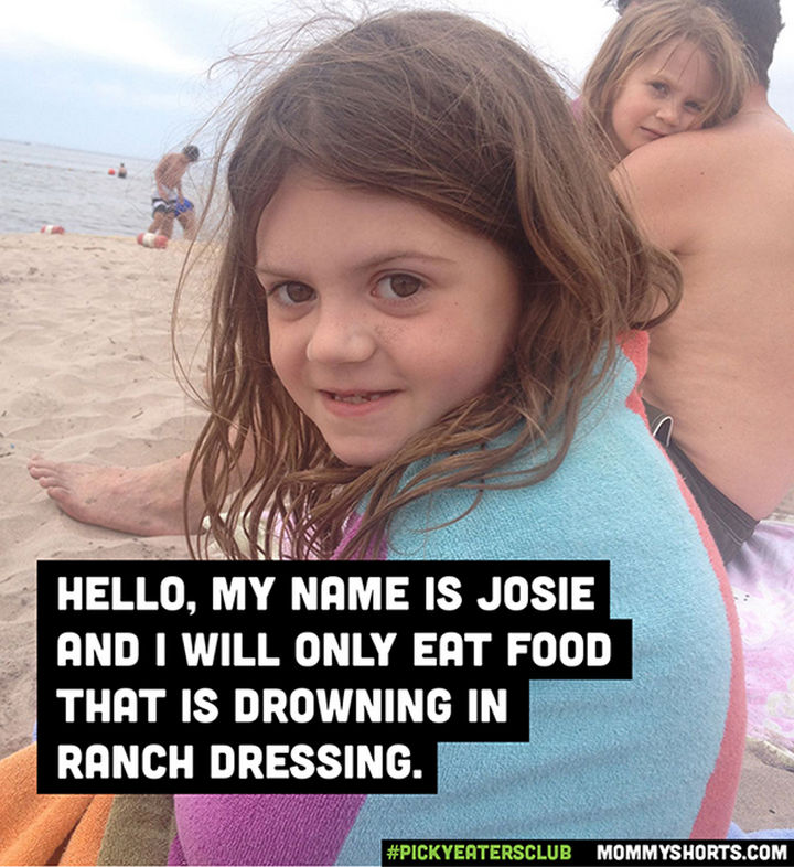 Picky Eaters Club - Hello, my name is Josie...