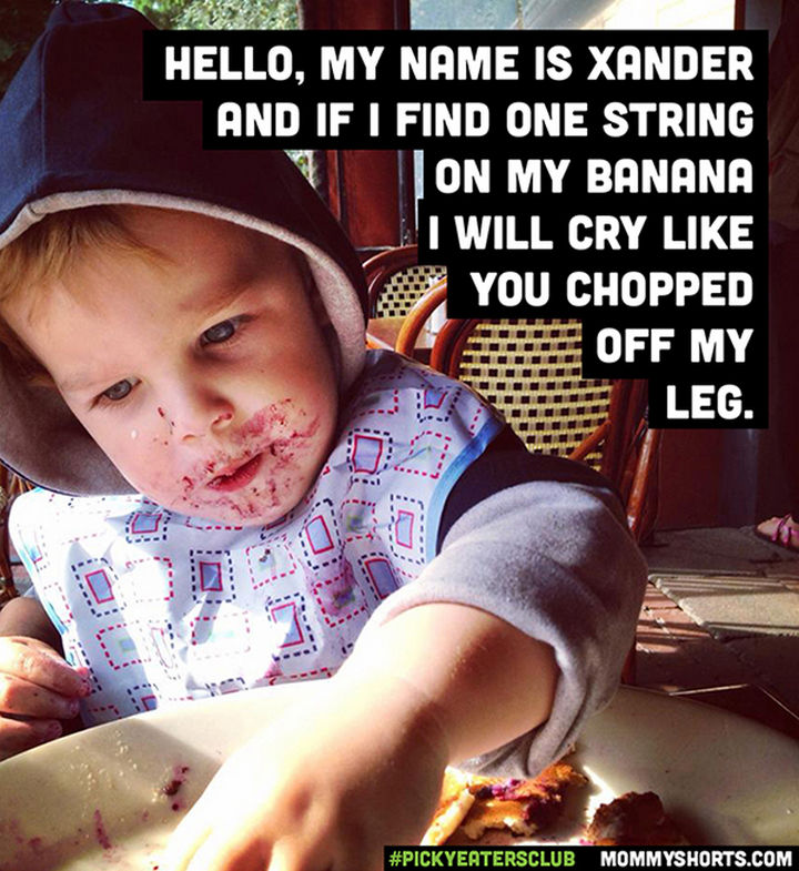 Picky Eaters Club - Hello, my name is Xander...