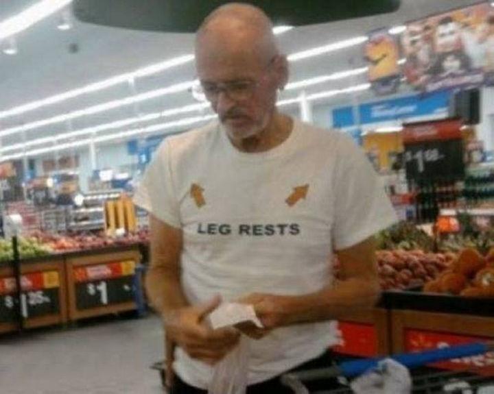 11 Seniors Wearing Funny Shirts - Oh my!