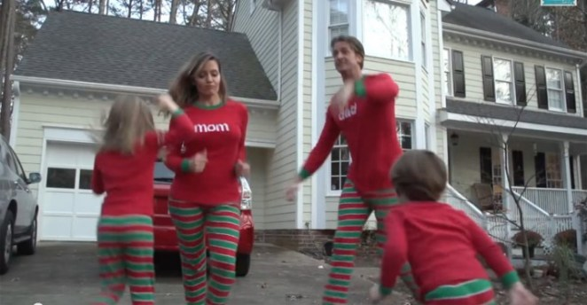 CHRISTMAS JAMMIES Is the Best Video Family Christmas Card Ever.