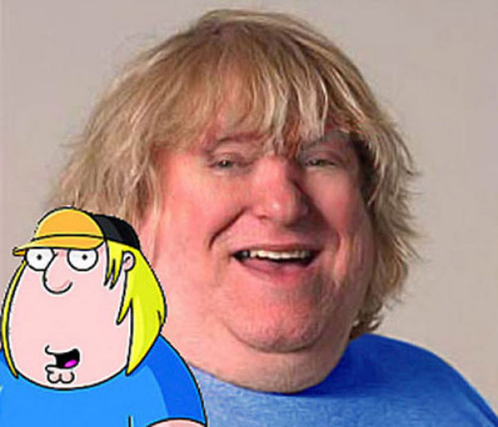 25 People That Look Like Cartoon Characters In Real Life - Chris Griffin of Family Guy.