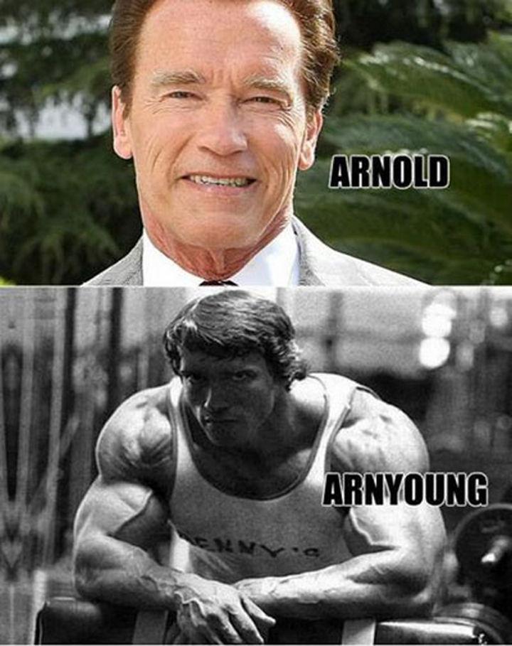 55 Hilariously Funny Celebrity Name Puns - Arnold.