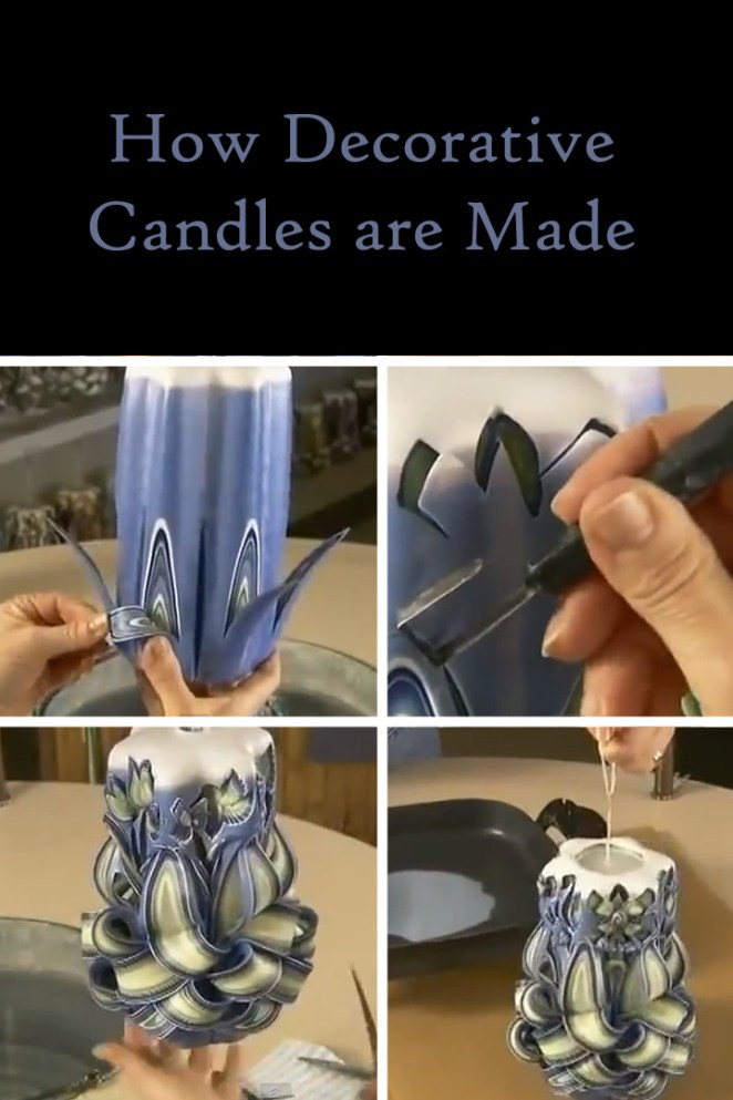 Decorative Holland House Candles Are Masterfully Created and You'll Be Amazed
