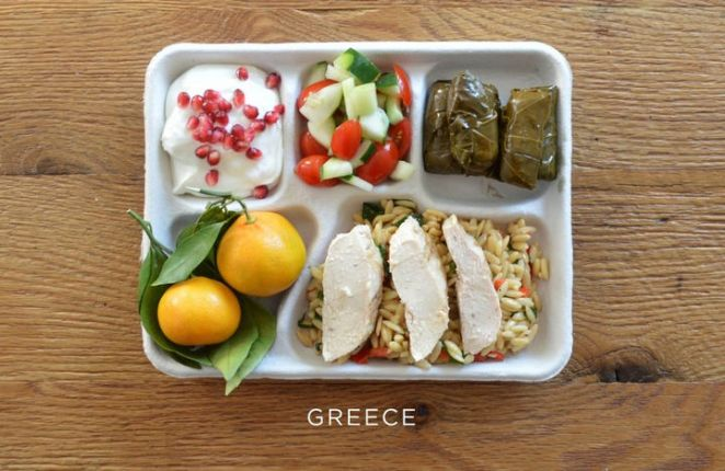 School Lunches Around the World - Greece.