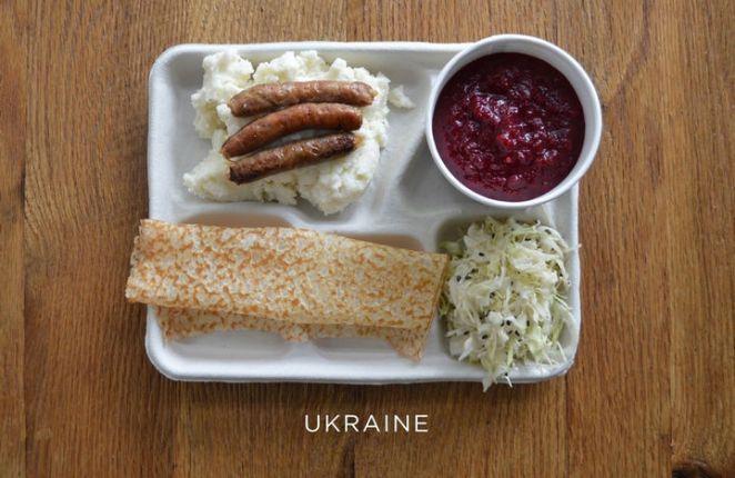 School Lunches Around the World - Ukraine.