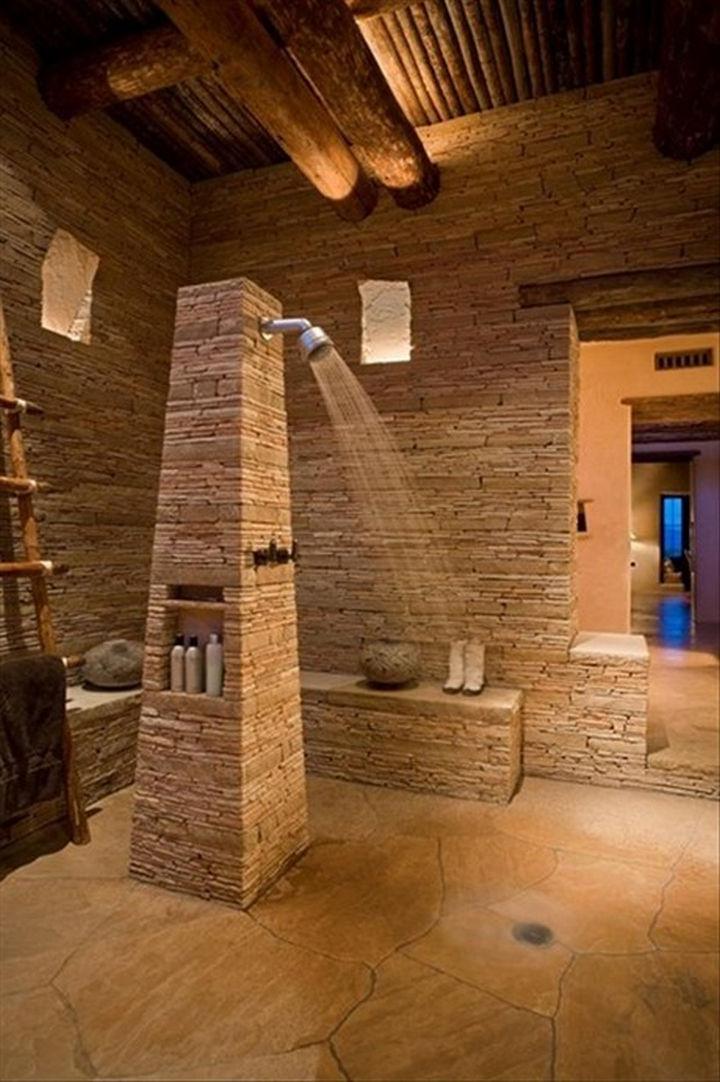 13 Beautiful Showers - Calming Zen shower.