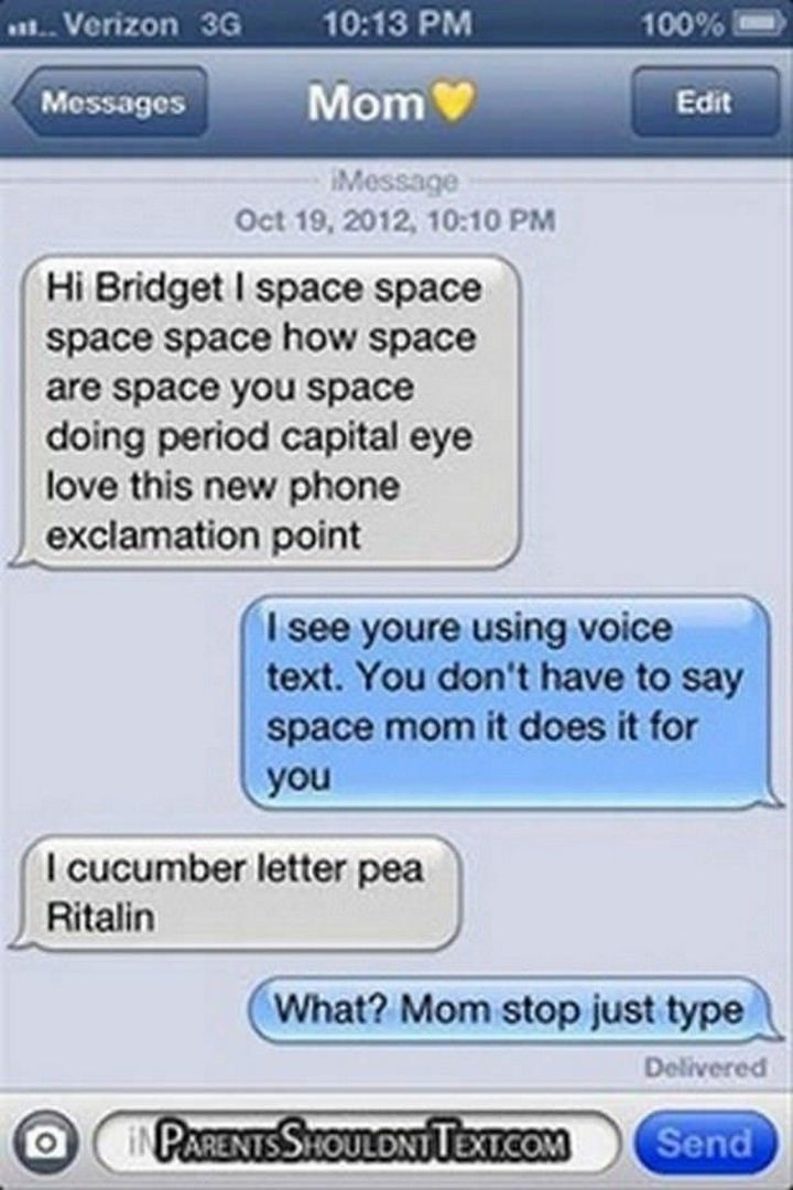 22 Hilarious Texts between Parents and Their Kids - Newbie.