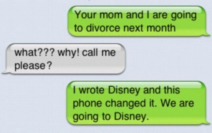 22 Hilarious Texts between Parents and Their Kids - That escalated quickly.