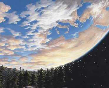 27 Amazing Optical Illusion Paintings by Rob Gonsalves.