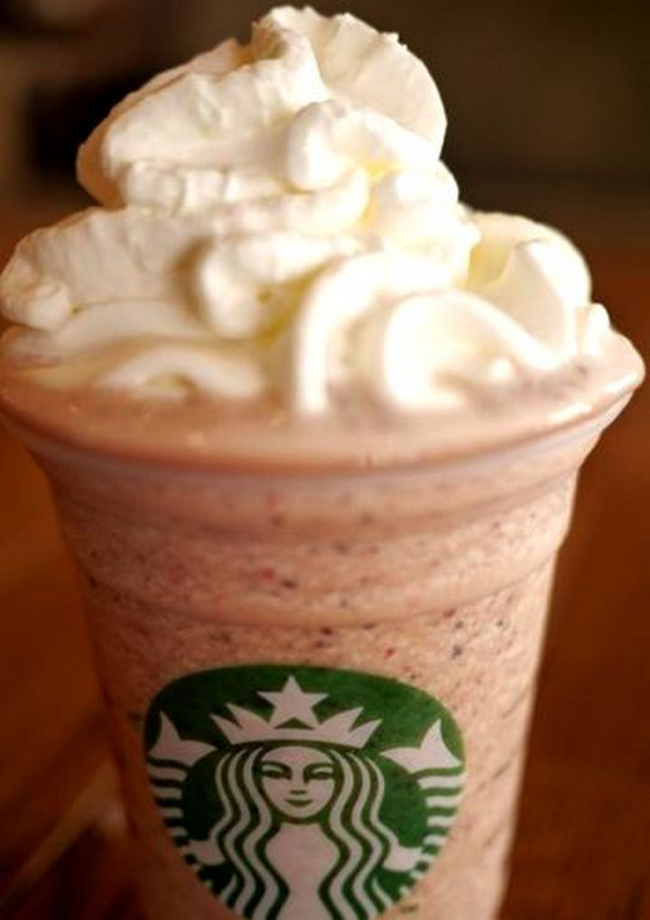 39 Starbucks Secret Menu Drinks - Banana Split Frappuccino recipe