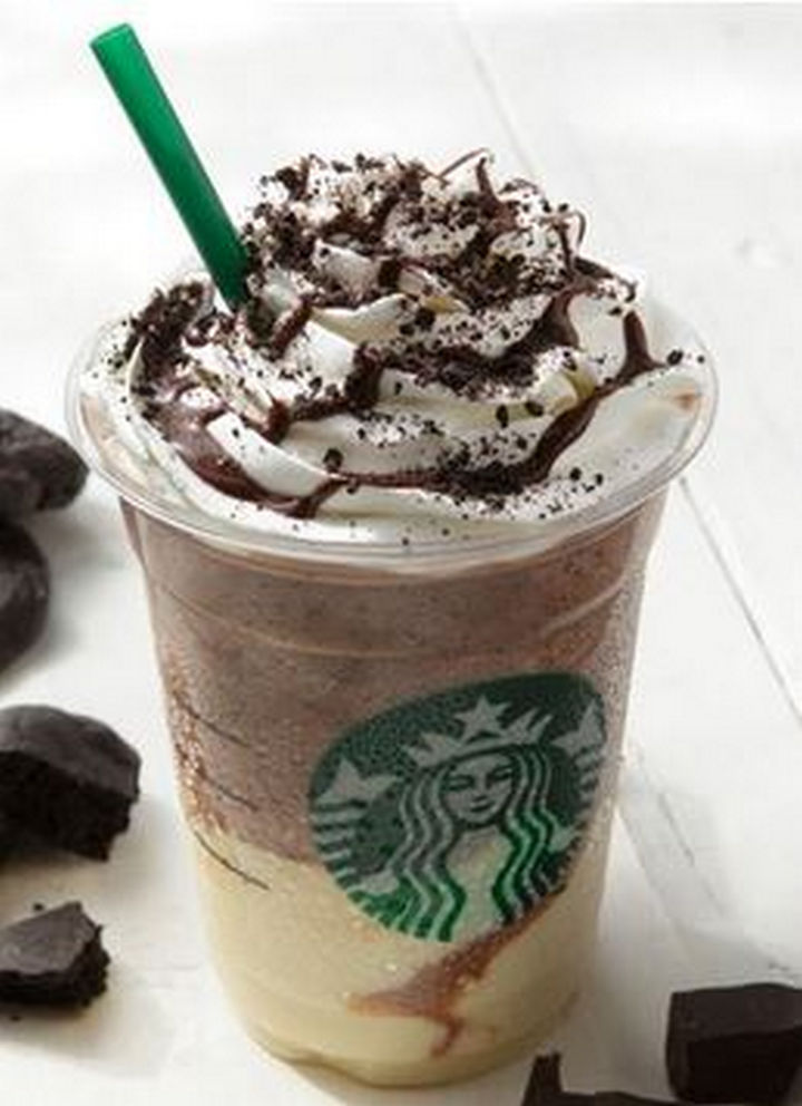 39 Starbucks Secret Menu Drinks - Dark Caramel Espresso Frappuccino recipe.