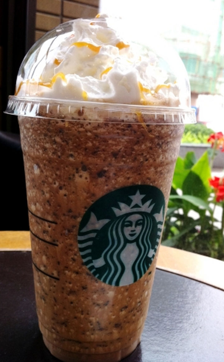39 Starbucks Secret Menu Drinks - Cadbury Creme Egg Frappuccino recipe.