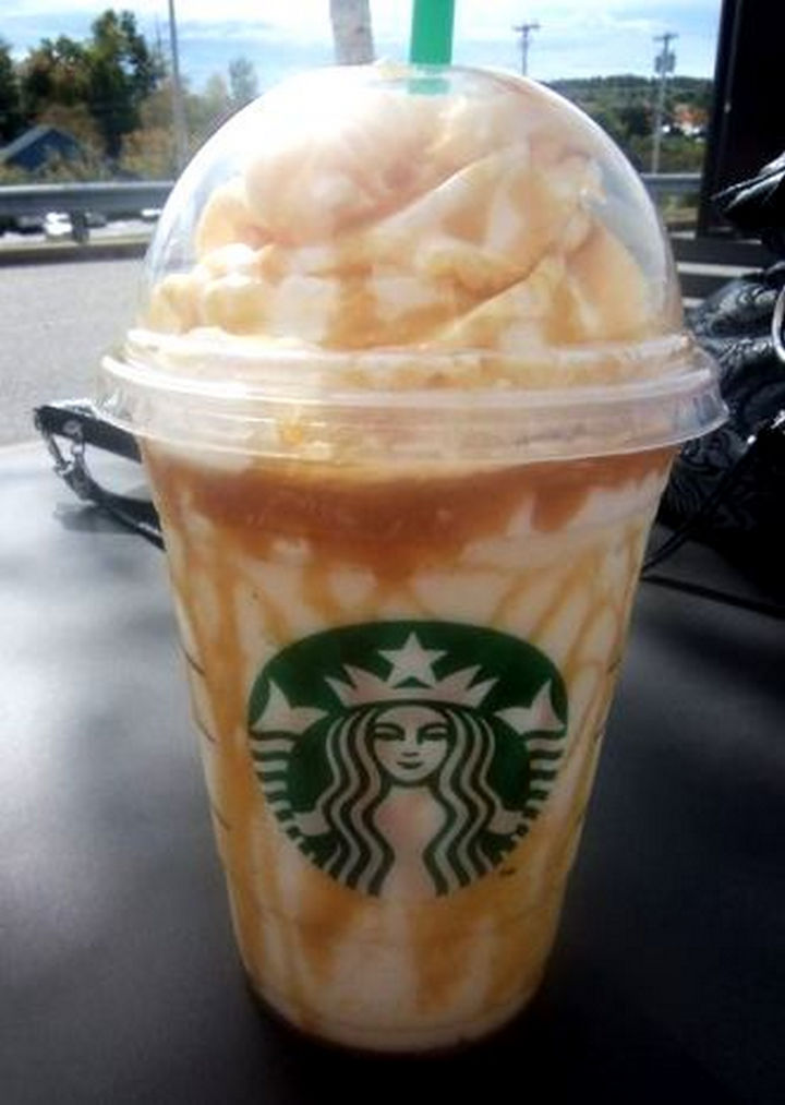 39 Starbucks Secret Menu Drinks - French Vanilla Frappuccino recipe.