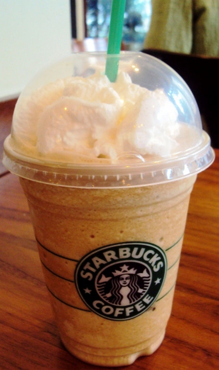 39 Starbucks Secret Menu Drinks - Nutter Butter Frappuccino recipe.