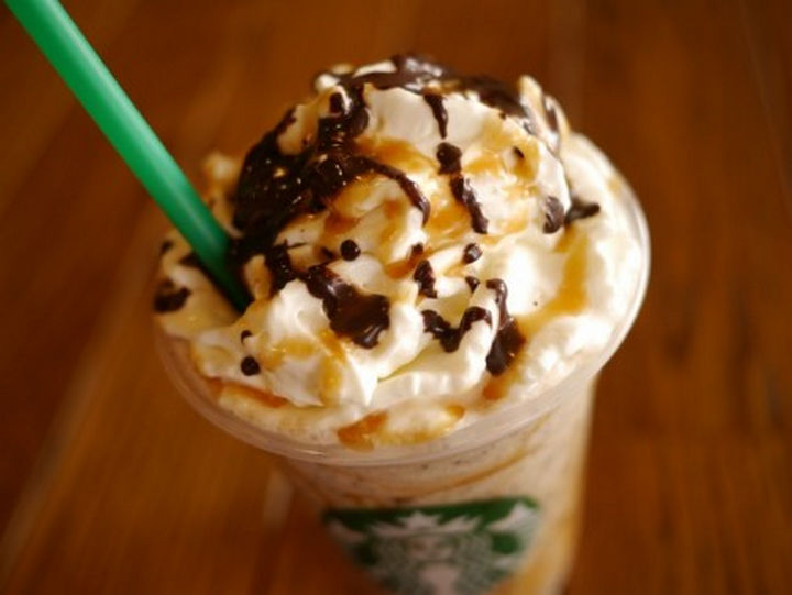 39 Starbucks Secret Menu Drinks - Twix Frappuccino recipe.