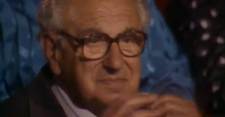 Sir Nicholas Winton Saved 669 Children During the Holocaust Is Honored.