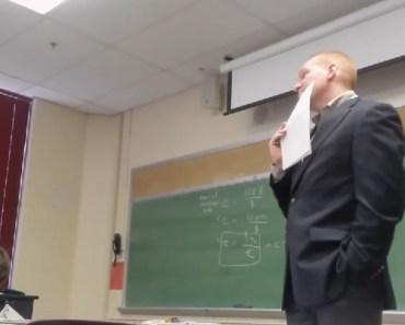 Student Played an April Fool's Cellphone Prank on Her Teacher.