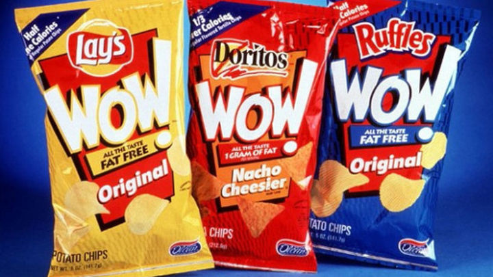 27 Failed Products - WOW! snack foods.