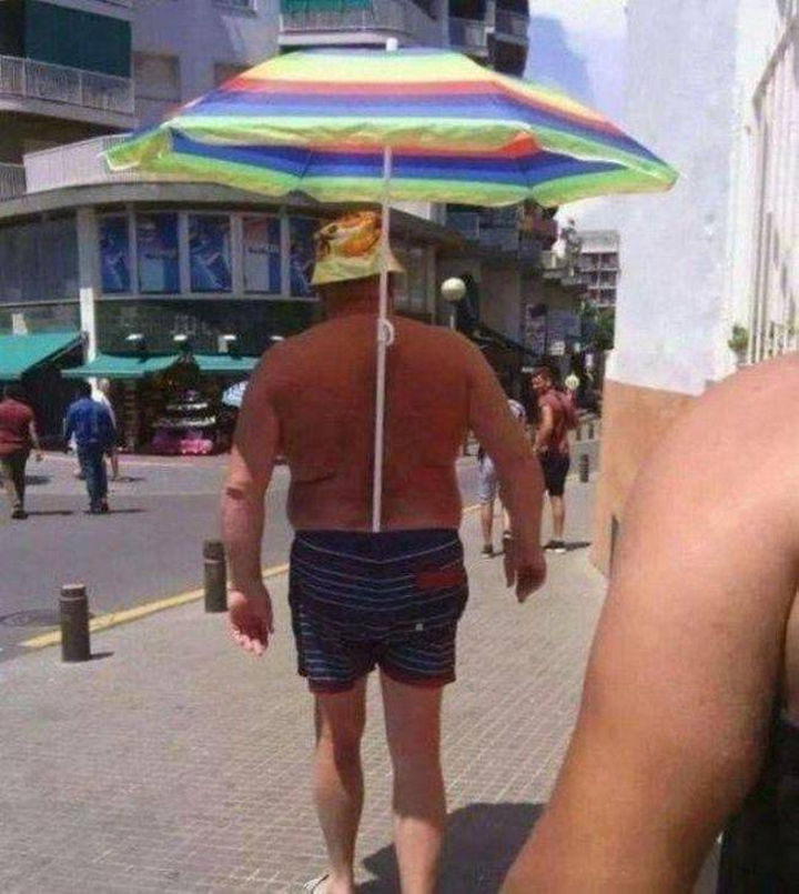 51 Crazy Life Hacks - Just don't ask me to hold the umbrella after.