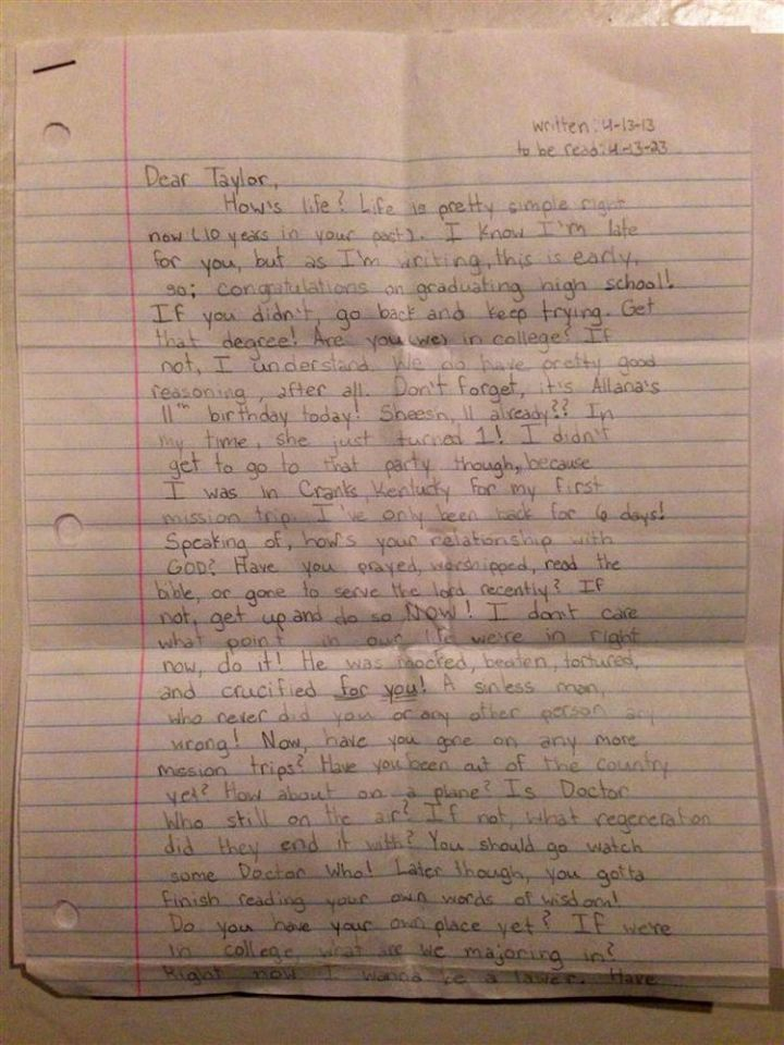She Wrote a Letter to Her Future Self and It Will Break Your Heart 03
