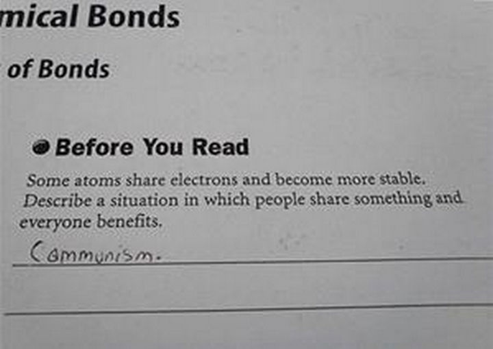 25 Funny Test Answers From Funny Kids - Good topic for a debate.
