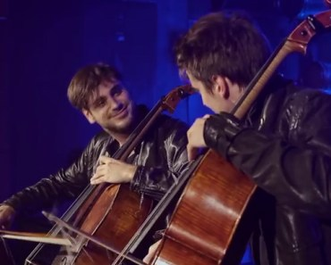 Cello Duo 2CELLOS Perform Cover of Iron Maiden's 'Trooper'.