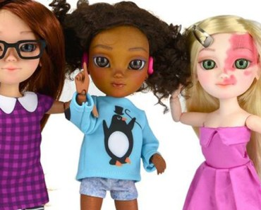 Toy Company Makie Creates Special Dolls With Disabilities.