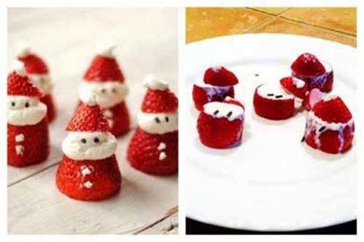 26 Pinterest Fails - What could look better than strawberry snowmen they said.